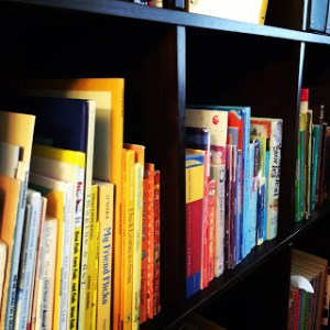 Children's Books organized by colour