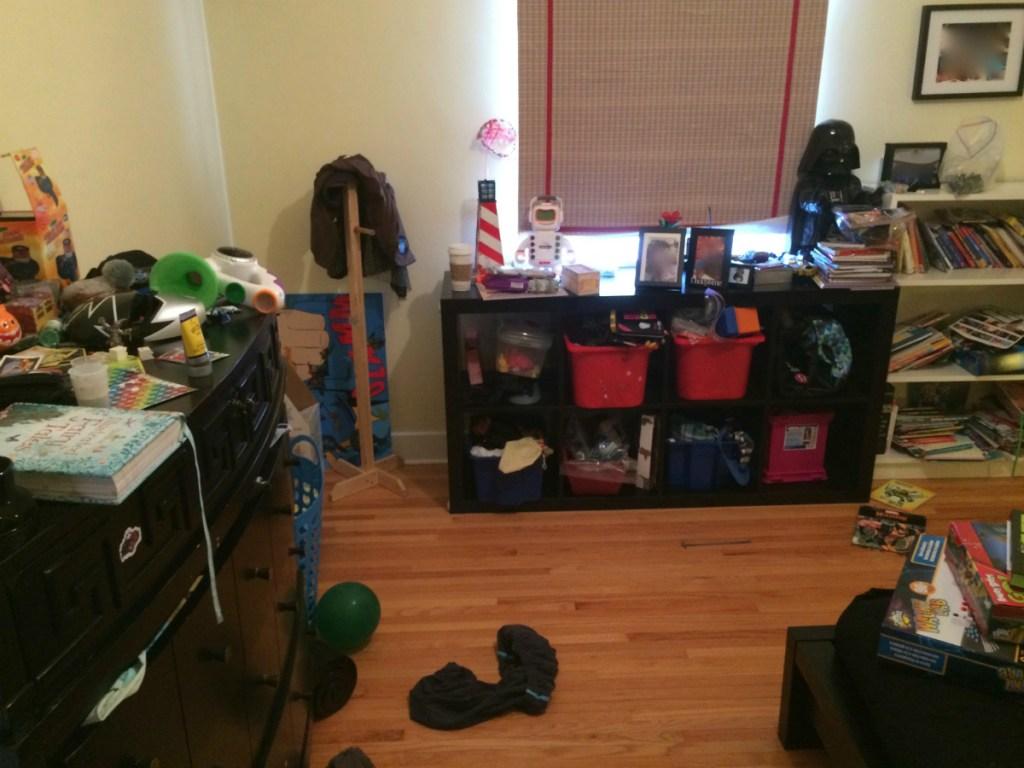 Kid's Bedroom Before