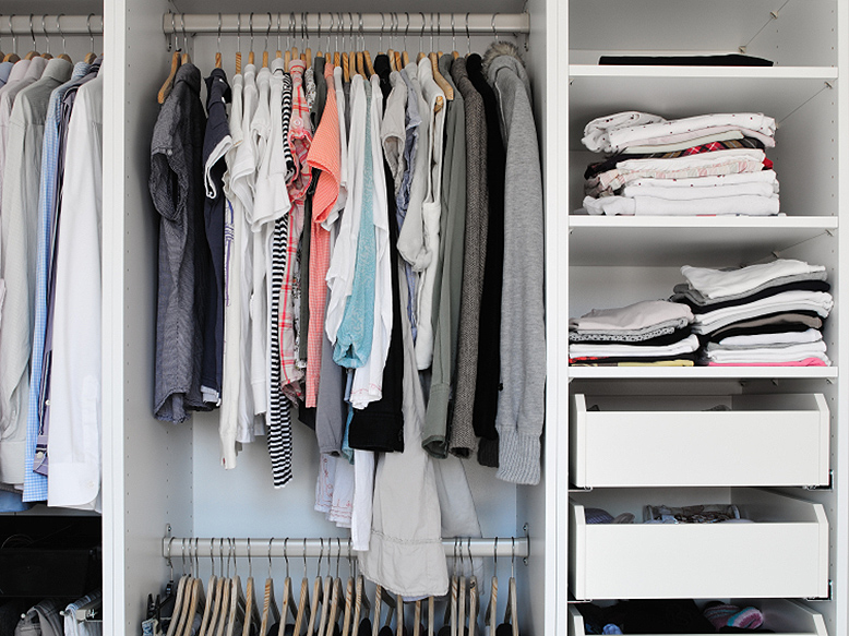 Organize your closet, Walmart Live Better
