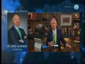Negociaciones del TLCAN podrían darse hasta el 2019: Castañeda. Con López Dóriga