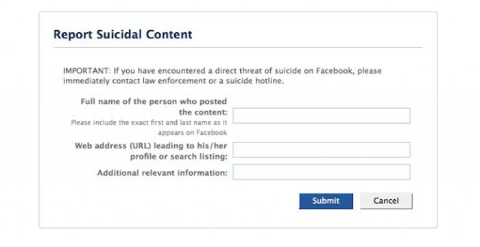 facebook mexico suicidios