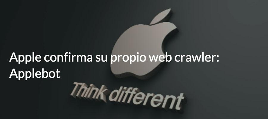 Apple confirma su propio web crawler: Applebot