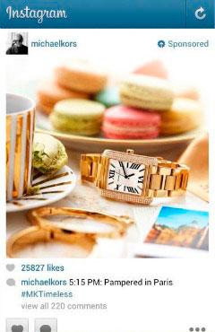 anuncios patrocinados en instagram