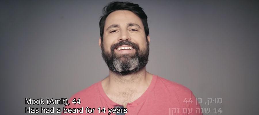 un hombre se rasuro y creo un increible marketing emocional
