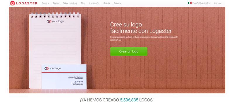 herramientas para crear logotipos online logaster