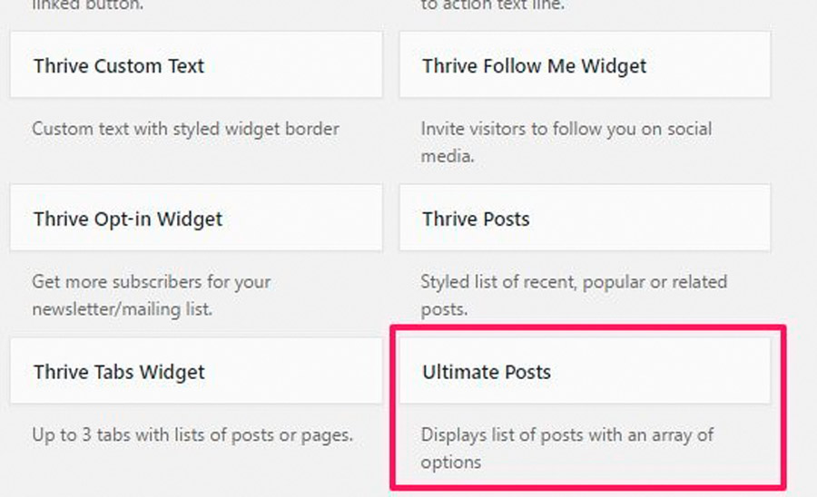 widgets para hacer seo wordpress