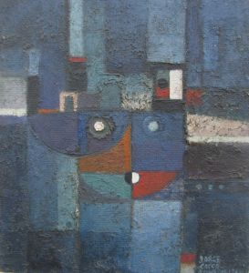 figura azul