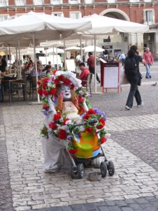 Performance-art in Madrid