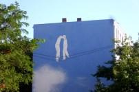 Wandmalerei in der Koloniestrasse