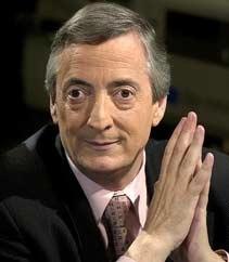 Ex-Presidente Argentino Nestor Kirchner