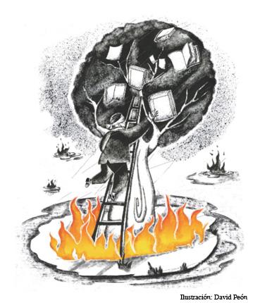 El enclave y el incendio