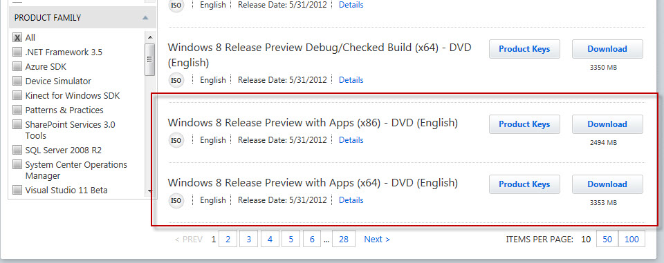 Windows 8 Release Preview Available to download! (4/4)