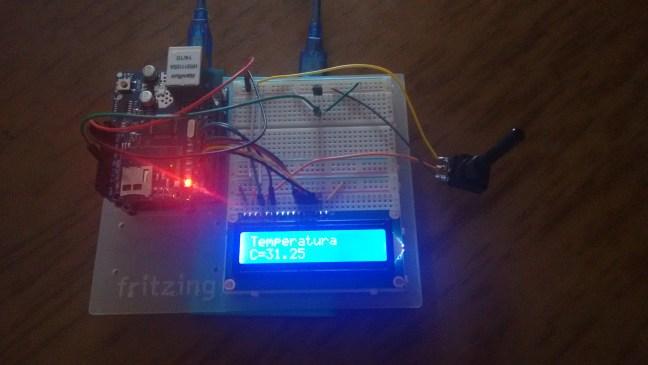 Termómetro arduino