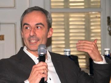 Jorge Segado en el Consulado General de Italia en Madrid