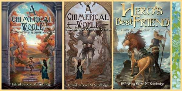 Fantasy Anthologies by Seventh Star Press