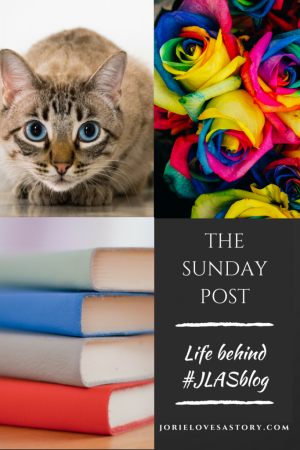 The Sunday Post badge created by Jorie in Canva using Unsplash.com photography (Creative Commons Zero).