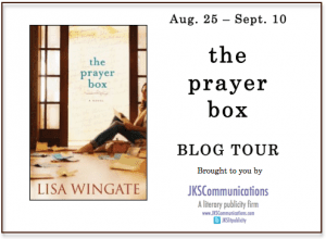 The Prayer Box Virtual Book Tour