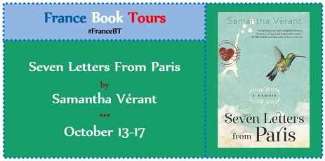 Seven Letters from Paris Virtual Book Tour via France Book Tours