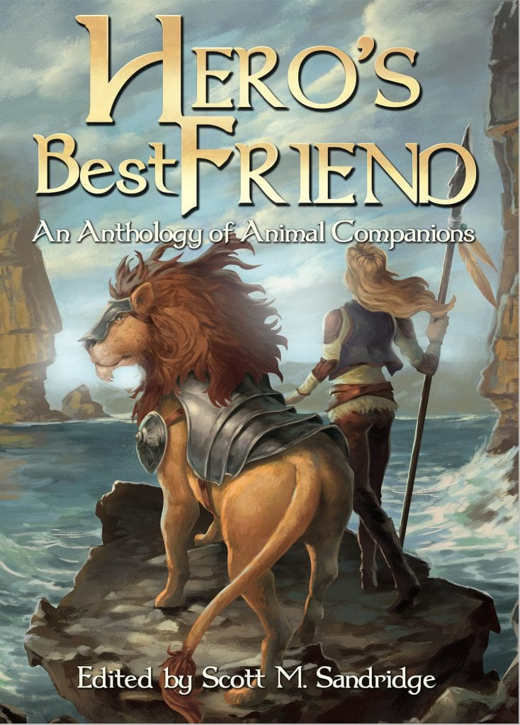 #WyrdAndWonder Book Review | Hero's Best Friend: an Anthology of Animal Companions {edited by} Scott M. Sandridge