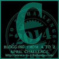 A to Z Challenge Day 3  Letter C