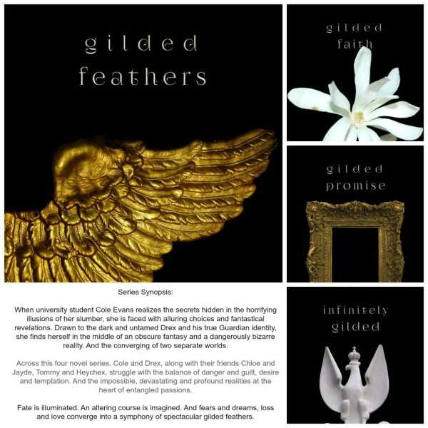 Gilded Feathers series by J. Woods