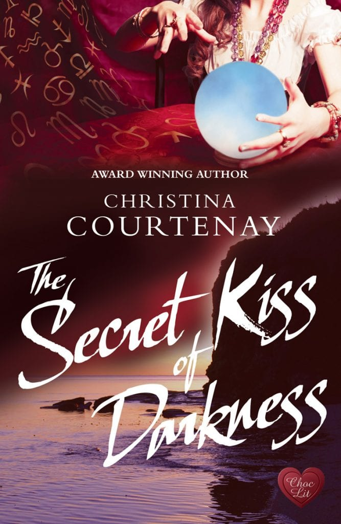 "#SpooktasticReads | Book Review ""The Secret Kiss of Darkness"" (Book No. 2 of the Shadows of the Past series) by Christina Courtenay #ChocLitSaturdays"