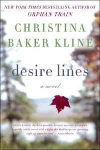 +Blog Book Tour+ Desire Lines by Christina Baker Kline