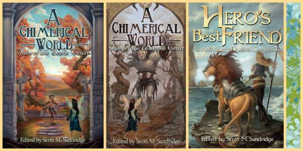 Fantasy Anthologies by Seventh Star Press