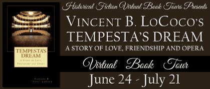 Tempesta's Dream Virtual Blog Tour with HFVBT