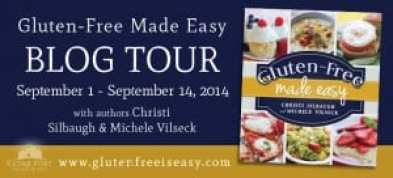 Gluten-Free Made Easy Blog Tour via Cedar Fort Publishing & Media