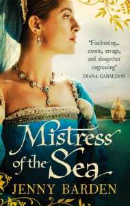 Mistress of the Sea by Jenny Barden