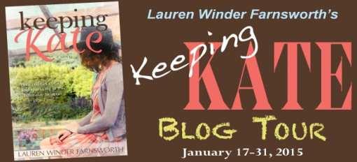 Keeping Kate Virtual Blog Tour via Cedar Fort Publishing & Media