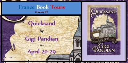 Quicksand Blog Tour via France Book Tours