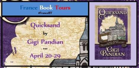 Quicksand Blog Tour via France Book Tours
