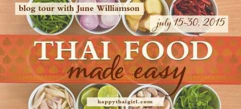 Thai Food Made Easy Blog Tour via Cedar Fort Publishing & Media