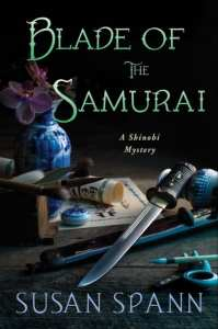 +Blog Book Tour+ Blade of the Samurai (Book 2 of the Shinobi Mystery series) by Susan Spann
