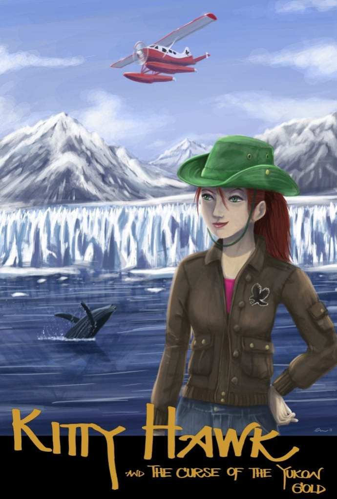 "Book Review | ""Kitty Hawk and the Curse of the Yukon Gold"" (Book 1: Kitty Hawk Flying Detective Agency) by Iain Reading"
