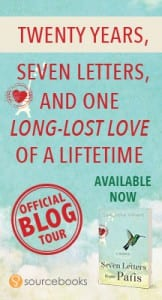 Seven Letters from Paris Blog Tour Badge by SourceBooks
