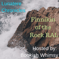 Finnikin of the Rock badge created by Jorie in Canva. Photo Credit: Cole Patrick (Public Domain : Unsplash)