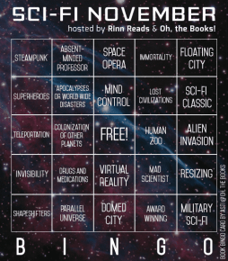 SFN Bingo Reading Challenge - hosted by Oh! the Books