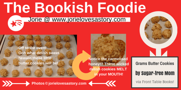The Bookish Foodie Part 6 Collage by Jorie in Canva (New Year's Eve)