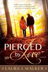 "Blog Book Tour | ""Pierced by Love"" by debut novelist Laura L. Walker an INSPY Contemporary Romance honestly portraying how a heart can heal through the power and conviction of love entwined with faith!"