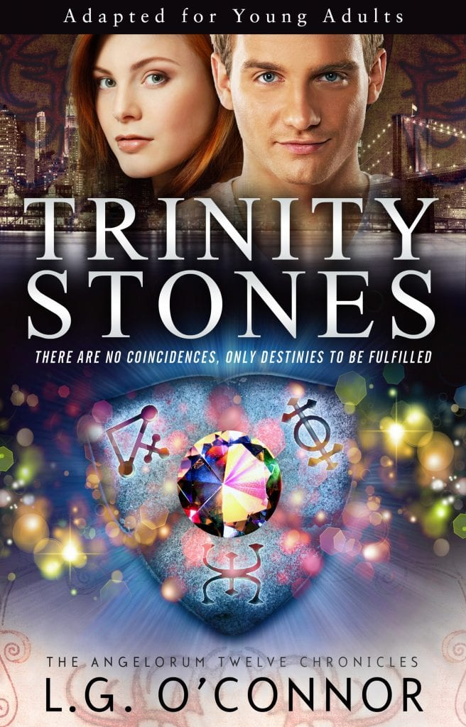 "Author Interview & Book Announcement | ""Trinity Stones"" (Book One of the Angelorum Twelve Chronicles) by L.G. O' Connor is re-released in YA! (jump up & shout to the moon!) I dearly loved the depth & heart of this story originally but not in the edition it was previously published; imagine my wicked sweet joy now?"