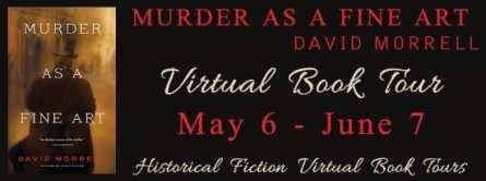 Murder As A Fine Art blog tour via HFVBTs
