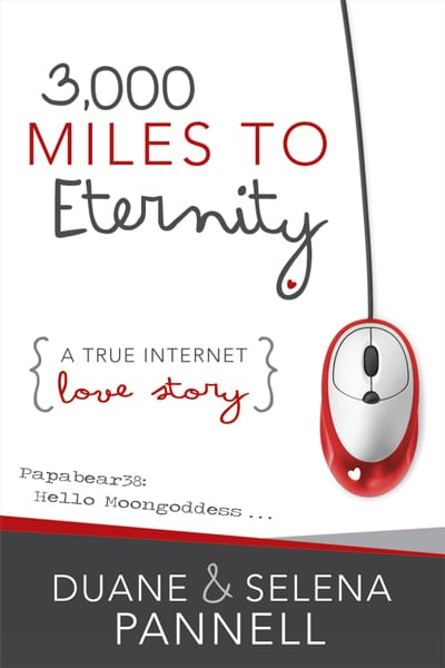 "Blog Book Tour | ""3,000 Miles to Eternity: A true internet love story"" by Duane & Selena Pannell Otherwise known as ""the book!"" Jorie has been happily chattering about for over a month!"