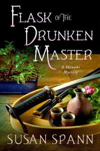 "Blog Book Tour | ""Flask of the Drunken Master"" No.3 of the #ShinobiMysteries by Susan Spann"