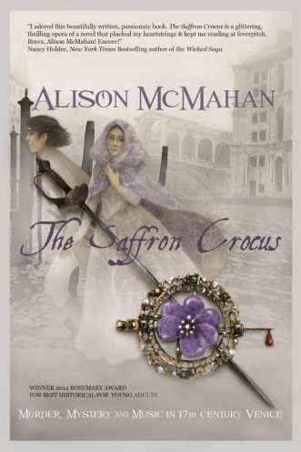 The Saffron Crocus by Alison McMahon