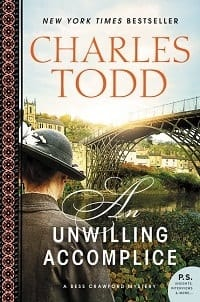 "Blog Book Tour | ""An Unwilling Accomplice"" by Charles Todd The sixth novel of the Bess Crawford mysteries!"