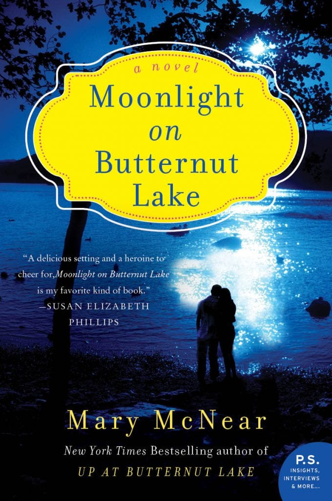 "Book Review | A reader happily returns to #ButternutLake in ""Moonlight on Butternut Lake"" by Mary McNear the 3rd novel in an expanding series with upcoming new installments in 2016/17!"