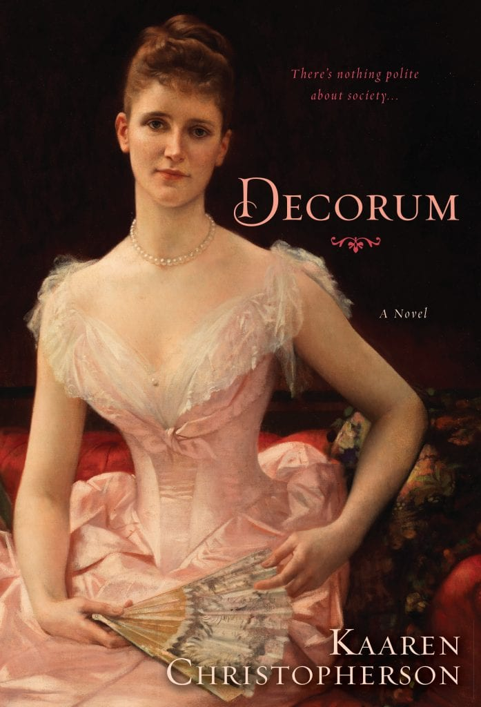 "Blog Book Tour   ""Decorum"" by Kaaren Christopherson"